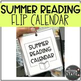 Summer Reading Flip Calendar Literacy Activities