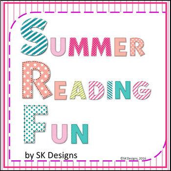 Summer Reading Fun Activities, Tracking Charts Record, Boo