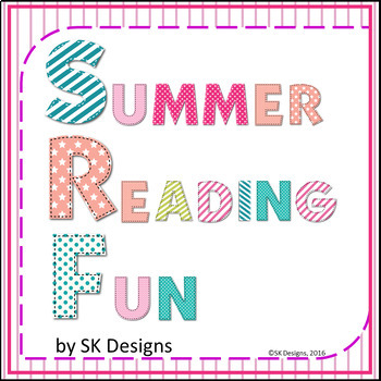 Summer Reading Fun Activities, Tracking Charts Record, Boo