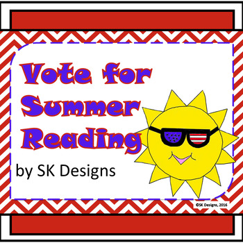 Summer Reading Fun Activities, Tracking Chart Record, Book