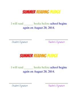 Summer Reading Goal