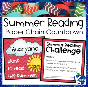 Summer Reading Goal Paper Chain