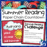 End of the Year Summer Reading Goal Paper Chain Challenge