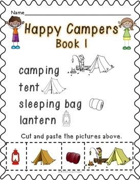 Summer Reading: Happy Campers (Kindergarten)