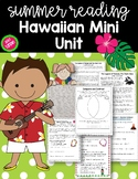 Summer Themed Reading Hawaiian Mini-Unit (Free Resource in Preview)