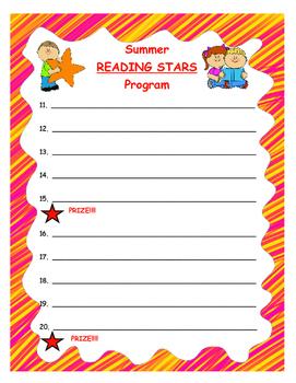 Summer Reading Incentive Program