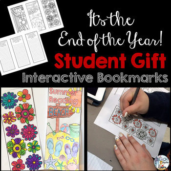 Summer Reading Interactive Bookmarks #EOYGiftsforBigKids