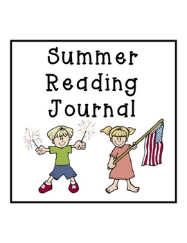 Summer Reading Journal - 4th of July Theme