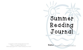 Summer Reading Journal - Beach Theme
