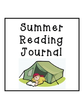 Summer Reading Journal - Camping Theme