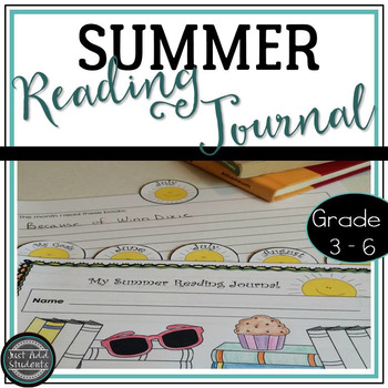 Summer Reading Journal {Tab Book} for Intermediate Grades