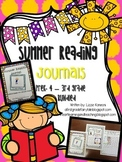 Summer Reading Journals- Getting Ready for PreK 4- 3rd Grade