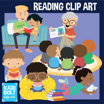 Reading and Strategy Animals Clip-Art