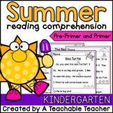 Summer Reading ~ Kindergarten