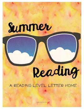 Summer Reading Letter