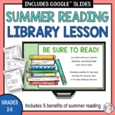 Summer Reading Library Lesson