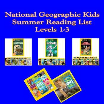 NATGEO Kids Summer Reading List