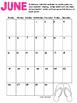 Summer Reading List  & Calendar for Students