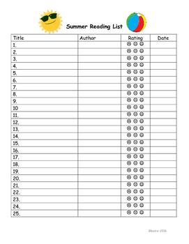 Summer Reading List + Parent Recommendations