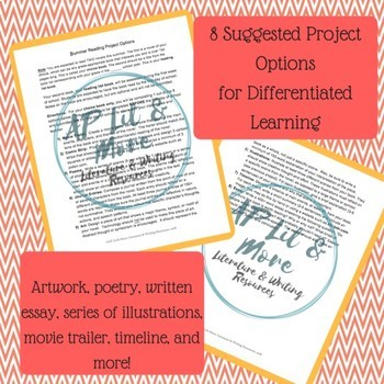 Summer Reading List & Project Options