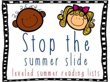 Summer Reading Lists: DRA 2-24