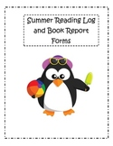 Summer Reading Log & Book Report Forms