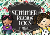 Summer Reading Log June July August