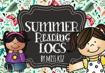 Summer Reading Log June July August