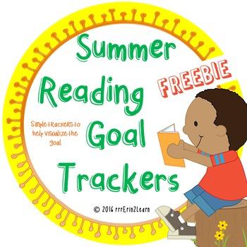 Summer Reading Log Tracker Free