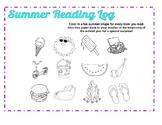 Summer Reading Log - Version 1