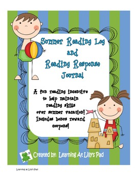 Summer Reading Log and Reading Response Journal