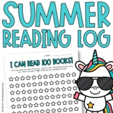 Summer Reading Log for Distance Learning