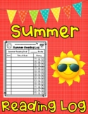 Summer Reading Log with Emoji Theme Book Rating System