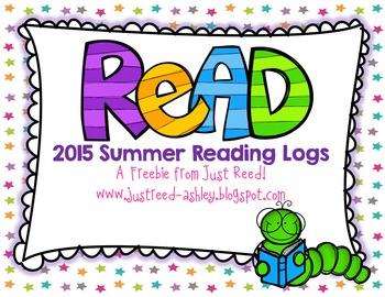 Summer Reading Logs  FREEBIE