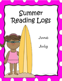 Summer Reading Logs - June and July Only