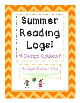Summer Reading Logs, Primary Lines, 6 Design Options