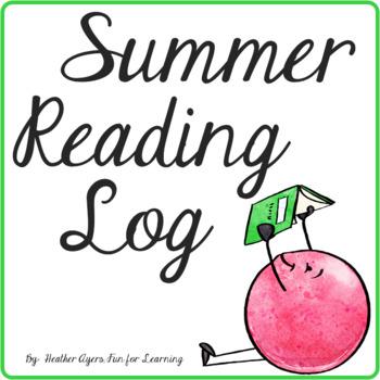 Summer Reading Logs for K-5