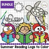 Summer Reading Logs to Color Bundle