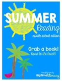 Summer Reading - Middle School Level