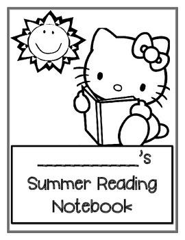 Summer Reading Notebook