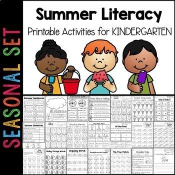 Summer Reading Pack Kindergarten to First