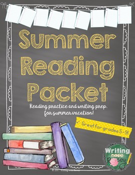 Summer Reading Packet (Activities and PowerPoint included)