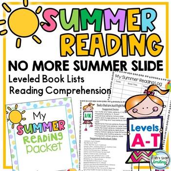 Summer Reading Packet by Reading Level ~ Avoid Summer Slide