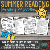 Summer Reading Packet for Rising Second Graders