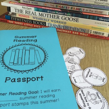 Summer Reading Passport Single Classroom Use By More Than A Worksheet