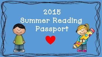 Summer Reading Passport