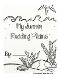 Summer Reading Plans