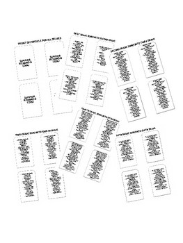 Summer Reading Popsicle Bookmarks - Grades 1-5 & Editable