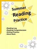 Summer Reading Practice