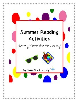 Summer Reading Practice:  Reader's Theater (Fluency),Comprehension, and More!